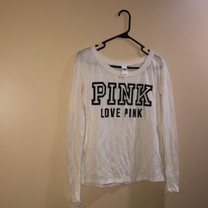3 for $20 Sale VS  Pink Long Sleeve Shirt